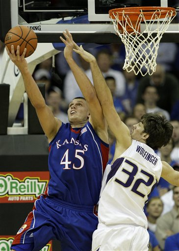 Kansas Washington Basketball